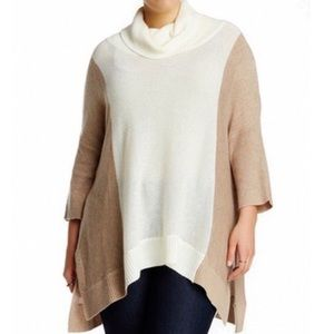 Just In! Plus - Sweet Romeo Poncho Sweater