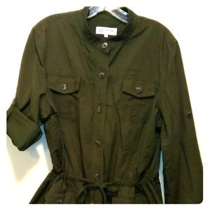 Safari jacket.