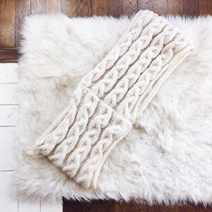THICK Chunky Woven Infinity Scarf