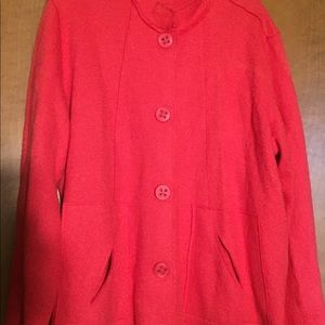 Stunning Coldwater Creek boiled wool jacket
