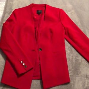 NWOT! Red hot The Limited Gorgeous Blazer Size S