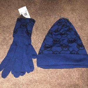 Michael Kors hat and gloves