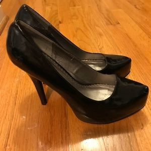 Torrid Black Heels Size 9w