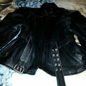 Genuine Leather Woman's Jacket
