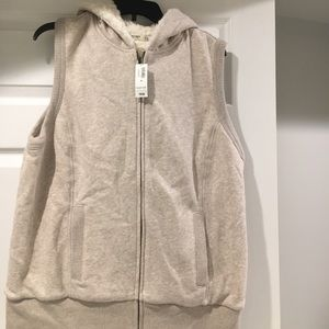 Faux Fur hooded vest