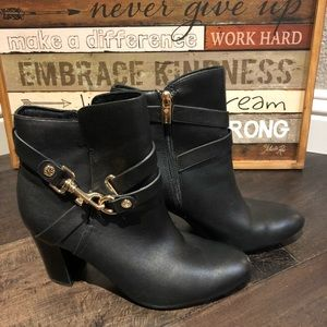 Women's Isola black ankle boots