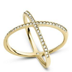Gold MK X Ring