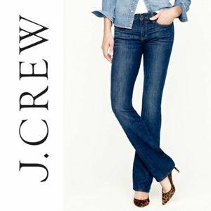 NWOT J. Crew Bootcut Stretch Jeans