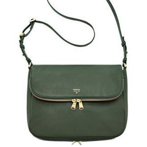 FOSSIL - Preston Hunter Green Crossbody