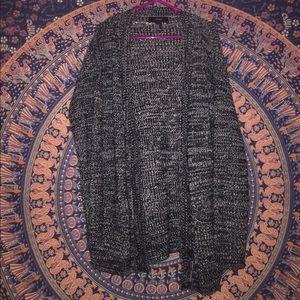 F21 oversized sweater cardigan 💜