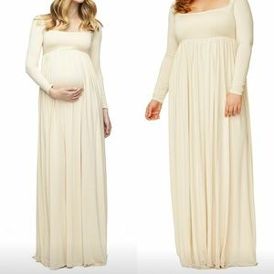 Rachel Pally Isa Maternity Dress - Cream