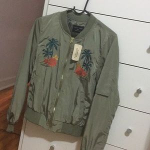 Brand new forever 21 olive green jacket
