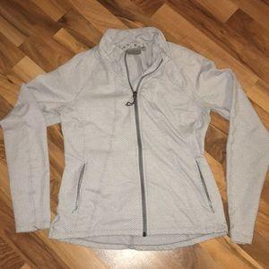 Light grey Athleta jacket - size M