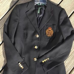 Ralph Lauren classic blazer size 4