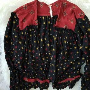 Free People Silky Cardigan Jacket