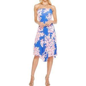Lilly Pulitzer loleta dress brilliant blue