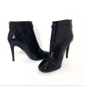 New In Box! Stunning Tory Burch Layne Patent Boots