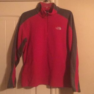 Red and Gray Fleece from The North Face