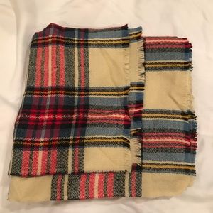 ASOS plaid blanket scarf