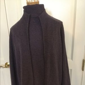 Cashmere Grape Sweater Set