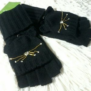 Kate spade cat gloves mittens