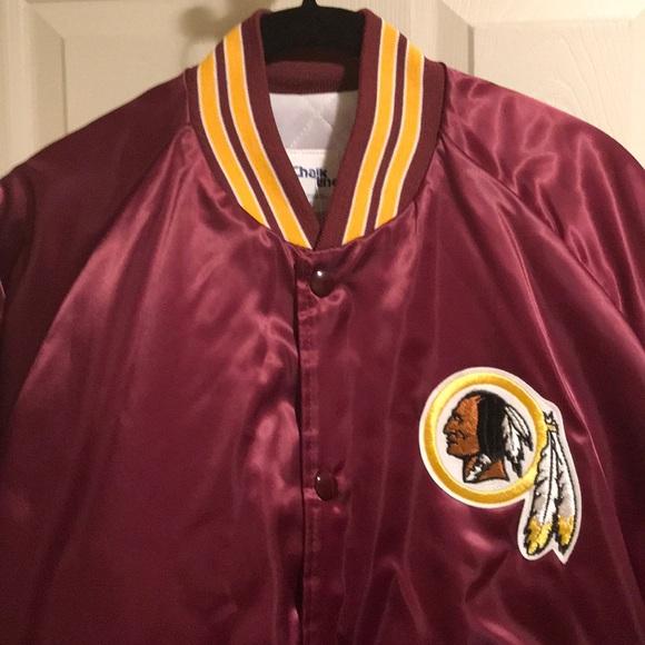 buy popular b0271 91c53 🏈 VTG NFL Washington Redskins Chalk Line Jacket