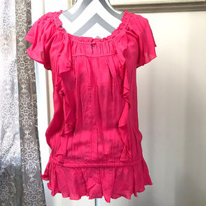 Express Ruffled Blouse