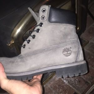 Men's Timberland Pro Space Gray Colored Boots