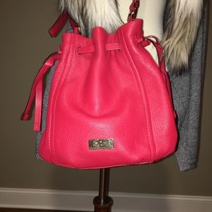 Kate Spade Red Leather Hobo Bag
