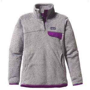 Patagonia Re Tool Purple Grey Jacket Size Small