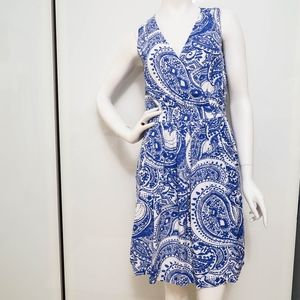 Reiss Frannie Paisley Dress