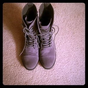 Just Fab Suede Boots