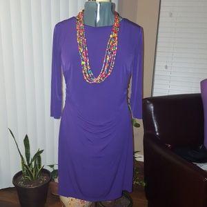 @AB Studio  3/4 sleeves bodycon dress