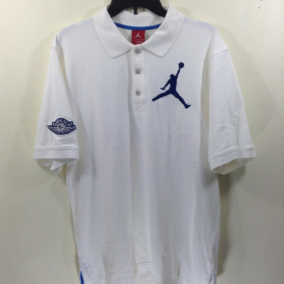 9350ada2ad7 Air Jordan Shirts | Nike Jordan Brand Polo Shirt Big Jumpman 23 ...
