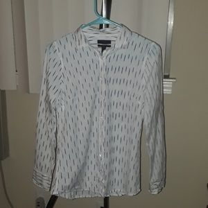 EUC J crew Graphic Perfect fit shirt