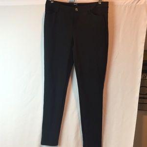 Michael Kors black skinny pants