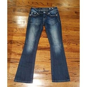 Brand new Miss me boot cut jeans size 27
