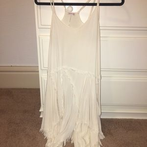 Free people intimate fringe dress XS