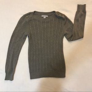 Banana Republic Cable Knit Sweater - Size Small