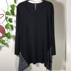 Style & Co. Plus Size Sweater 3x Sequined. B047