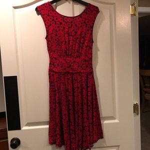 Anthropologie  knit dress with scoop back size XS