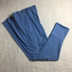 Lularoe Solid blue maxi skirt