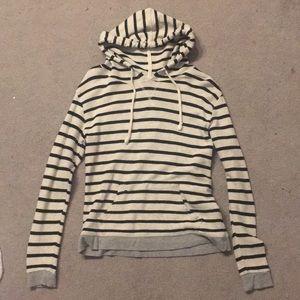 Black white and gray forever 21 sweatshirt