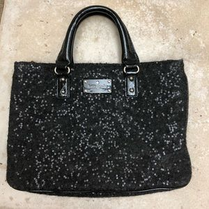 Sequined Kate Spade purse