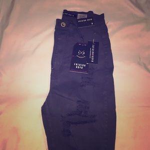 Charcoal fashion Nova jeans Size 5