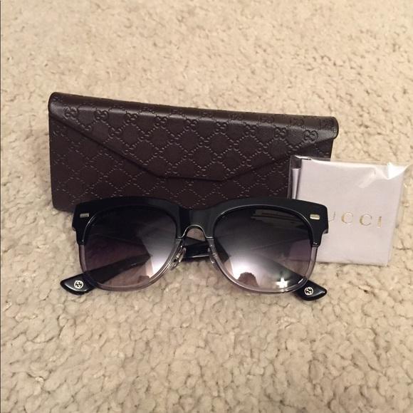 d5ebd17d52aae Gucci Accessories - NWOT Gucci 5MM Oval sunglasss
