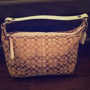 Coach canvas bag 🛍