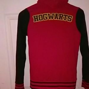 Hot Topic Harry Potter Hogwarts button sweater