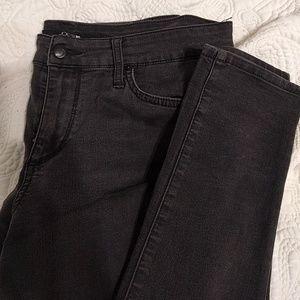 """Joe jean black skinny jeans """"the skinny"""" size 30"""