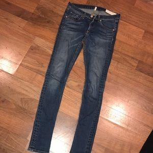Denim - Rag & Bone /Jean Skinny Jeans 27